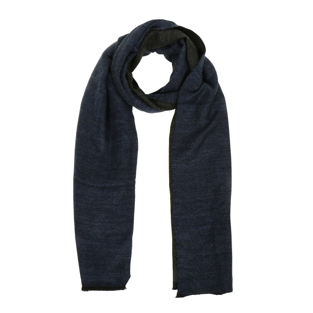 Reversible Plain Nylon Wool Stole