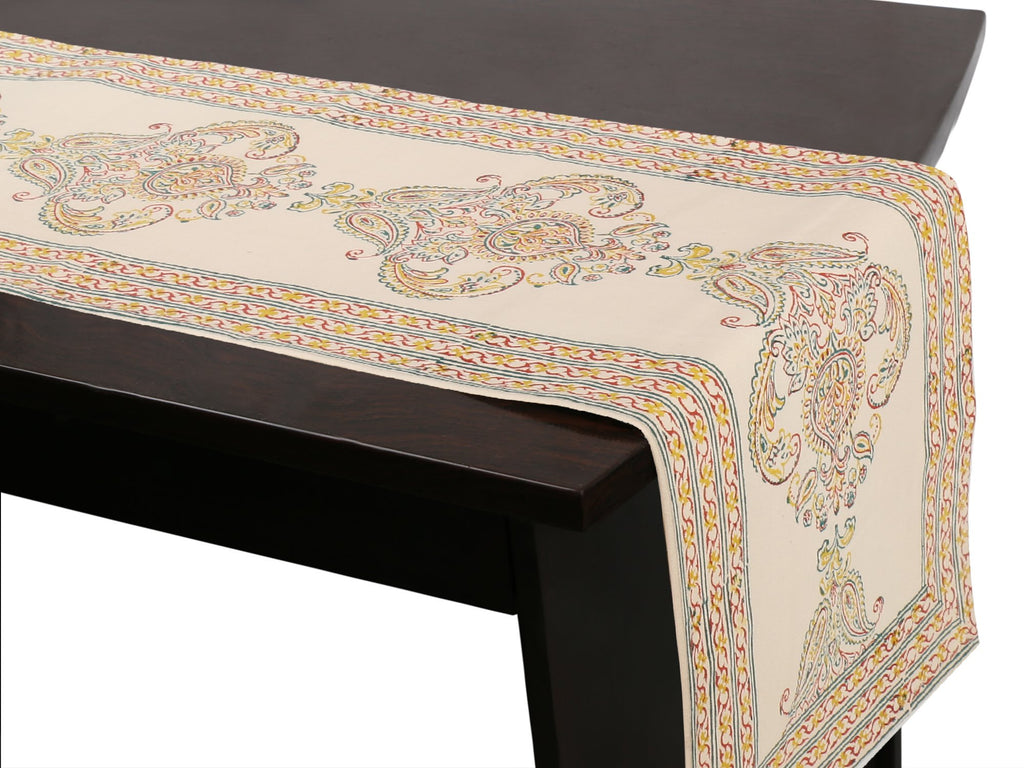 Jaipuri Cotton Table Runner - 17