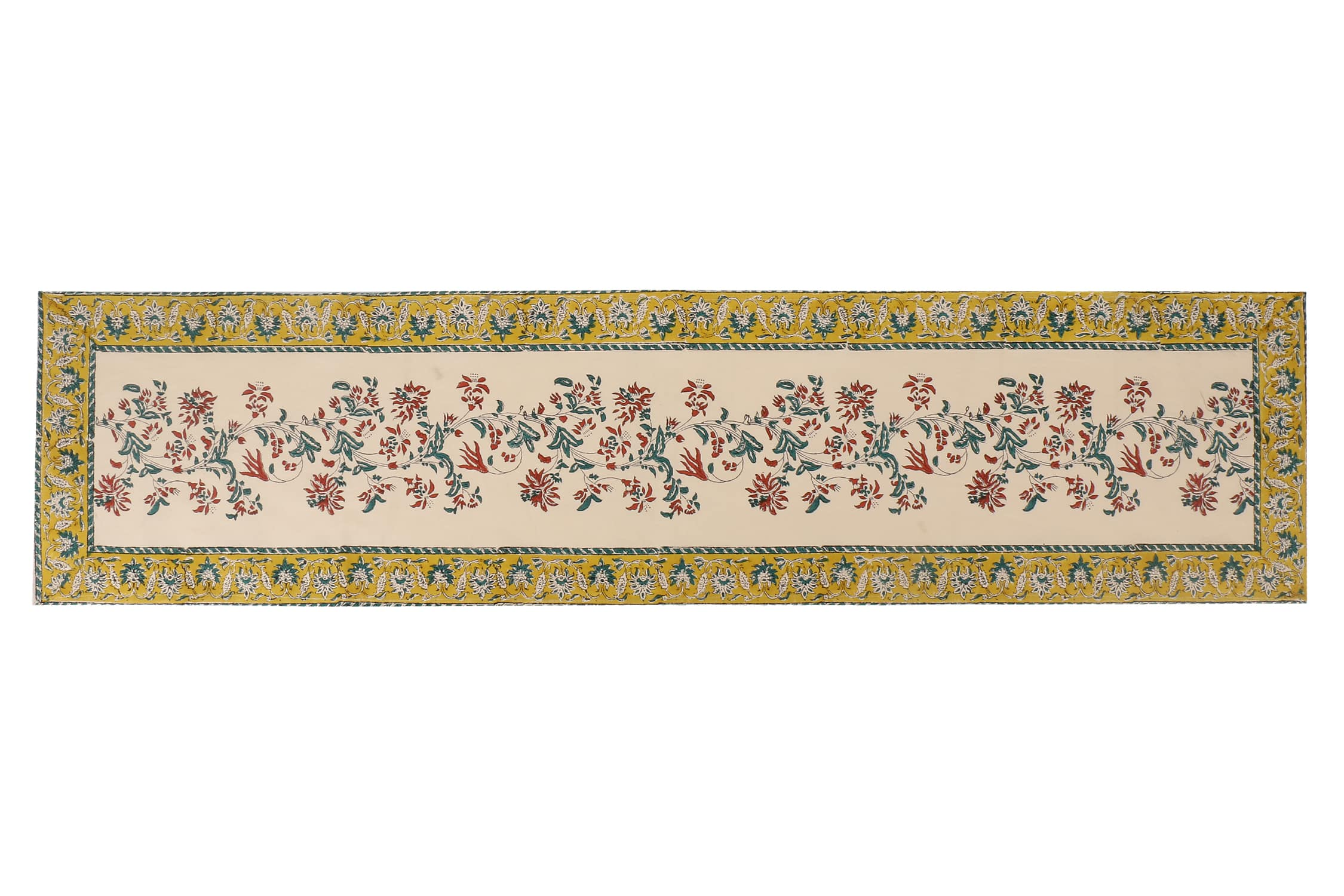 Jaipuri Cotton Table Runner - 7