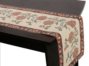 Jaipuri Cotton Table Runner - 9