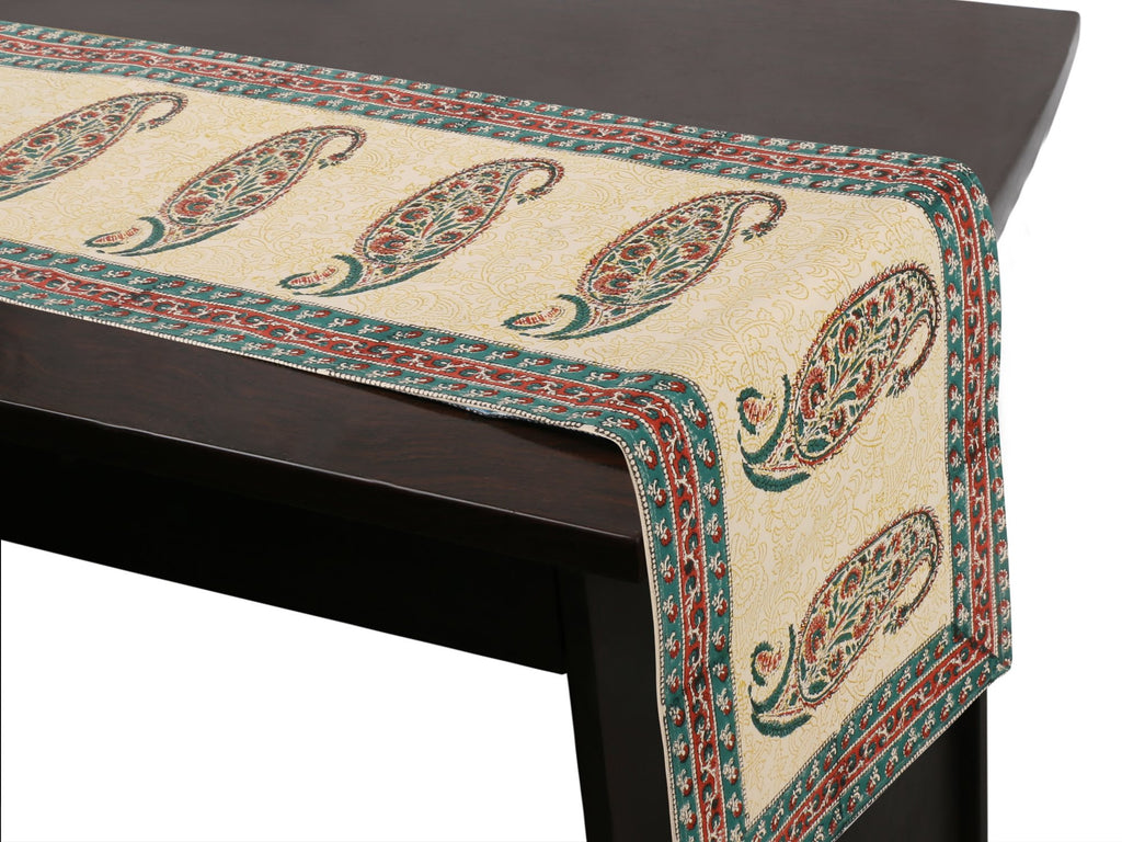 Jaipuri Cotton Table Runner - 13