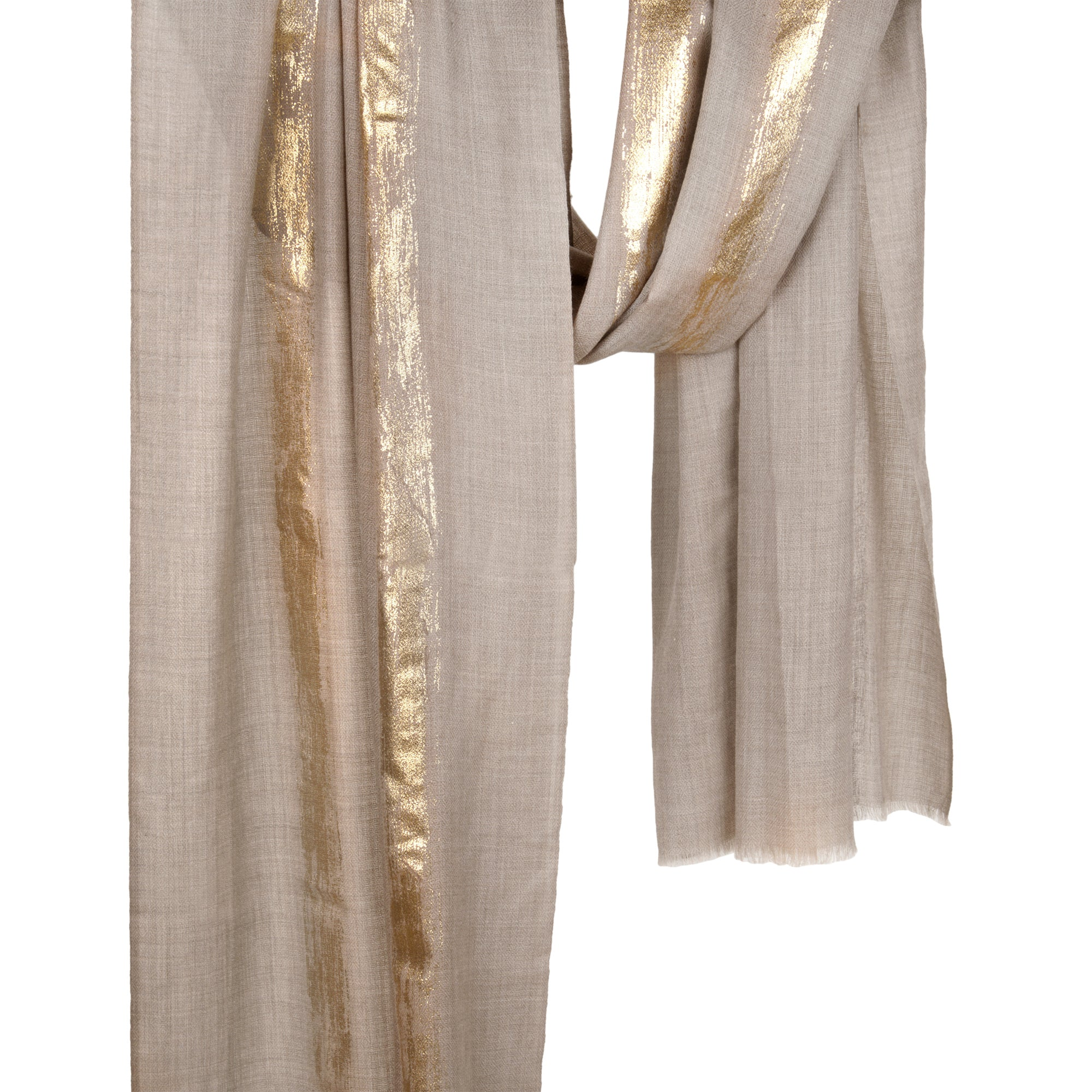FeatherDust Fine Wool Stole