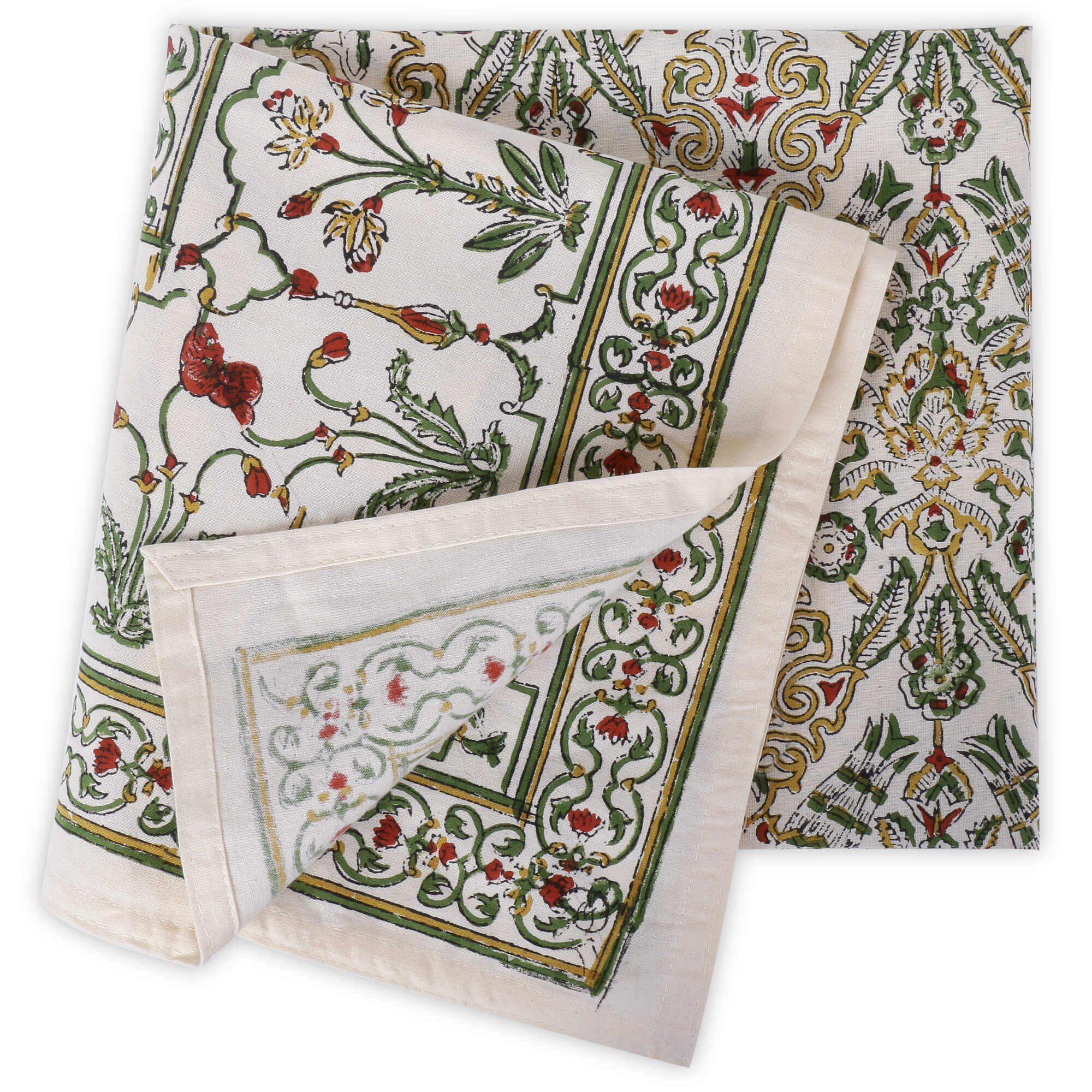 Jaipuri 6 Seater Cotton Table Cover - 7965