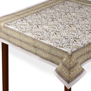 Jaipuri 8 Seater Cotton Table Cover - 8014