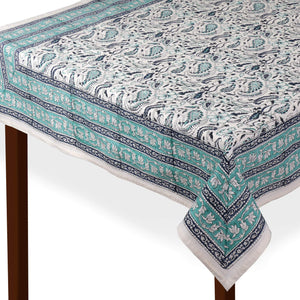 Jaipuri 8 Seater Cotton Table Cover - 8005