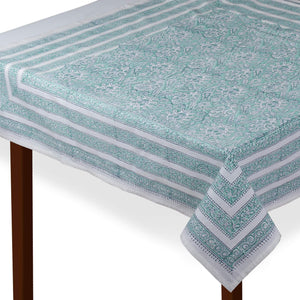 Jaipuri Square Cotton Table Cover - 7880