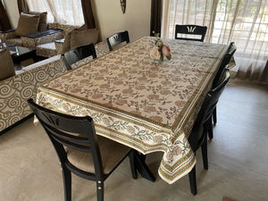 Jaipuri 8 Seater Cotton Table Cover - 7998