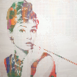 """Audrey Hepburn"" I by Sean Christopher Ward"