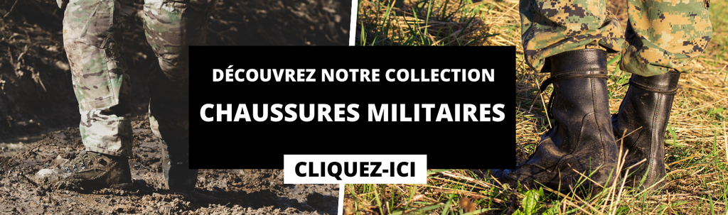 collection chaussures militaires