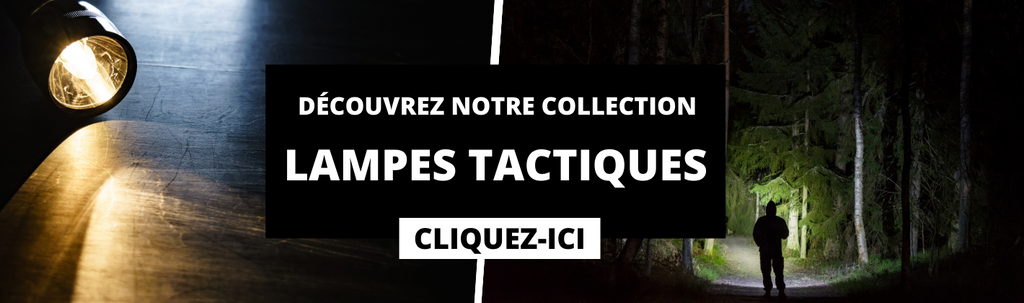 collection lampe tactique
