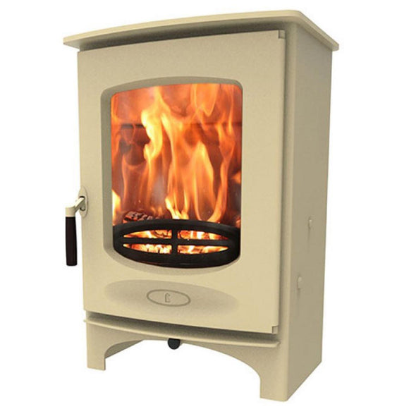 Charnwood - C Eight Fireplace, 9kW - Almond