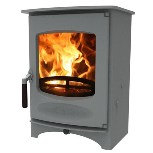 Charnwood - C Four Fireplace, 5kW - Pewter