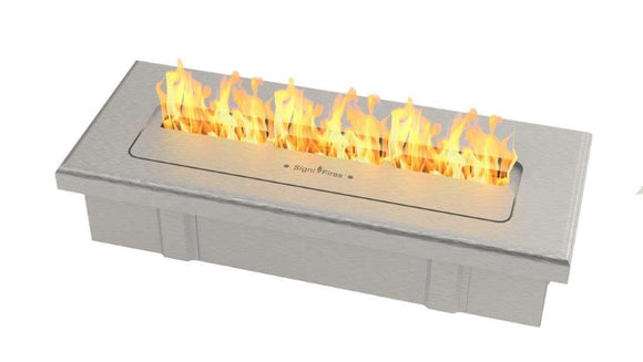 Signature Bio Fuel Fireplace, Stainless Steel - MultiFire - Fireplace Specialists