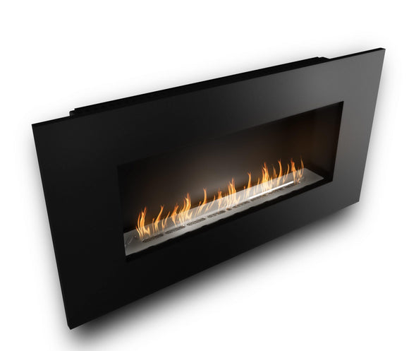 Wall Mounted Bio Fuel Fireplace, Built-In