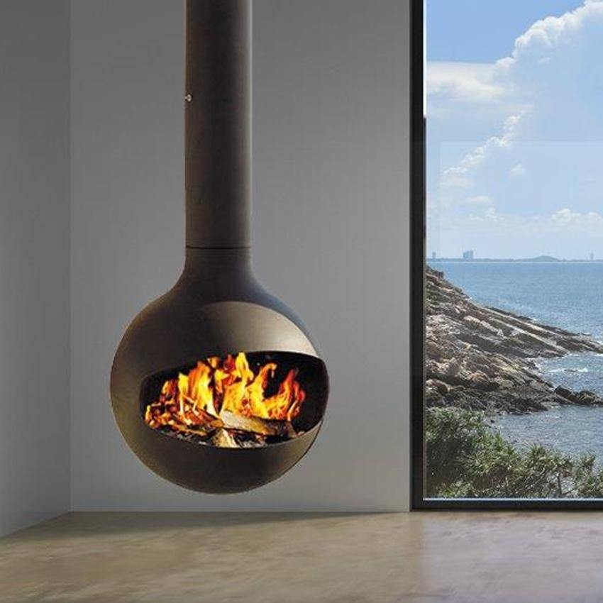 Halo Suspended Fireplace Multifire Fireplace Specialists