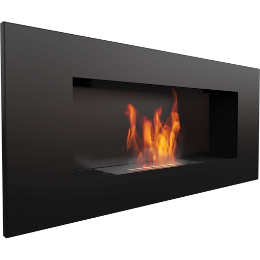 Delta 2 Black, Bio Fuel Fireplace