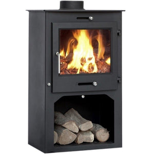 Northern Flame - Azar Fireplace, 12kW + Stand - MultiFire - Fireplace Specialists