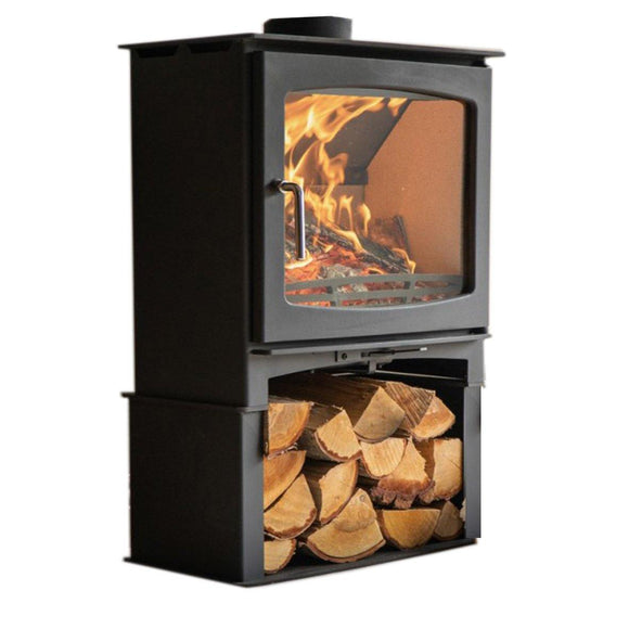 Northern Flame - Panoramic Fireplace, 7kW + Stand - MultiFire - Fireplace Specialists