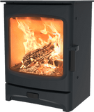 Charnwood - Aire Fireplace, 5kW - Black