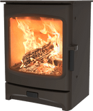 Charnwood - Aire Fireplace, 5kW - Brown