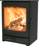 Charnwood - Aire Fireplace, 5kW - Green