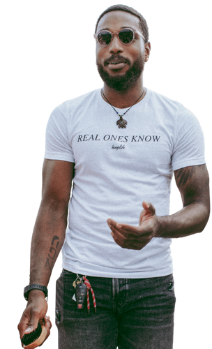 Real Ones Know Tee | White