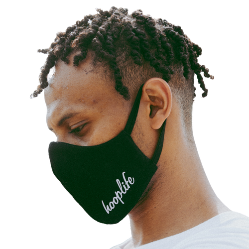 Classic HoopLife Face Mask | Black