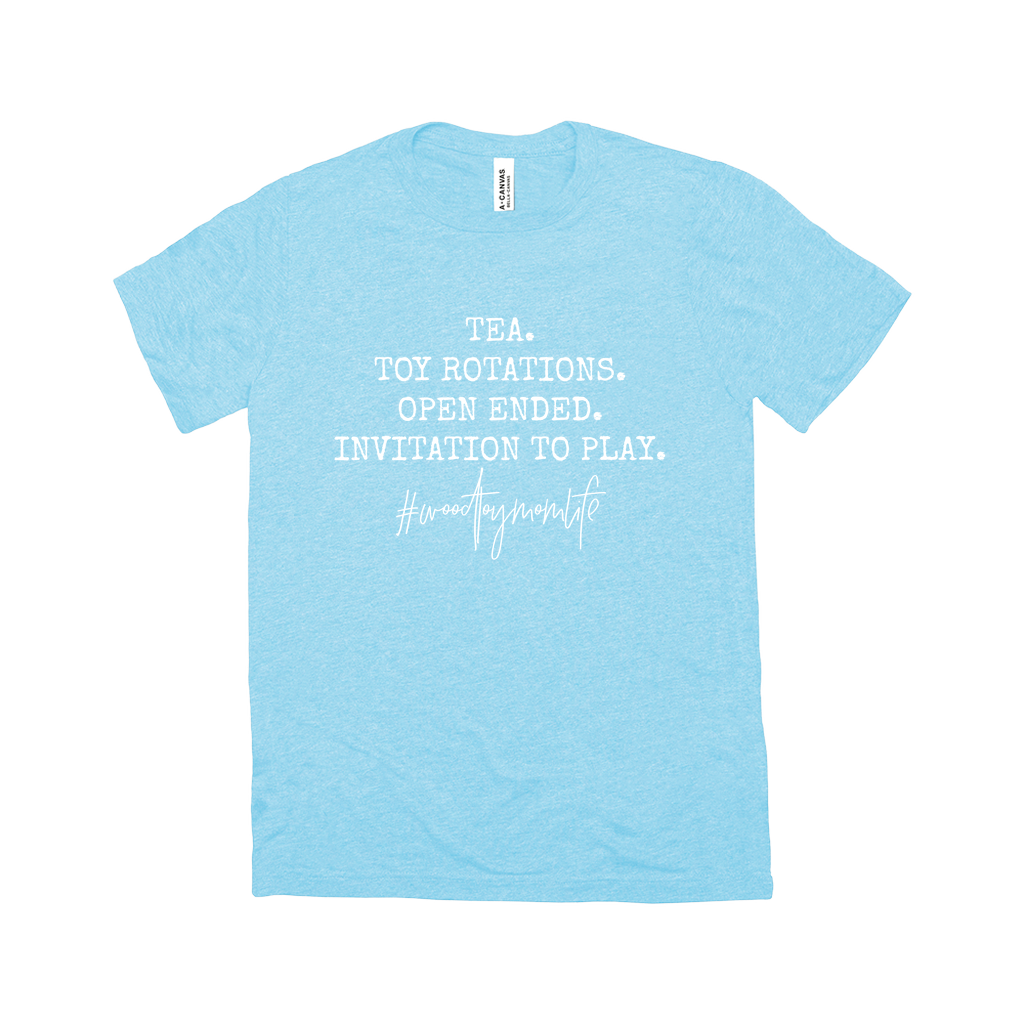 Tea. Toy Rotations. Open Ended. Invitation To Play. | T-Shirts
