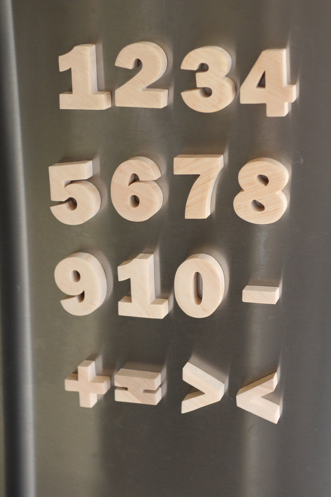 Magnetic Alphabet + Numbers