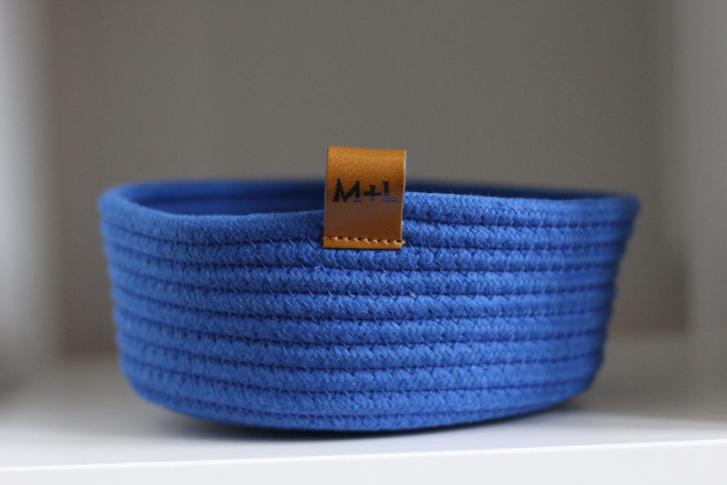 Promise Rope Basket | 10 Colors