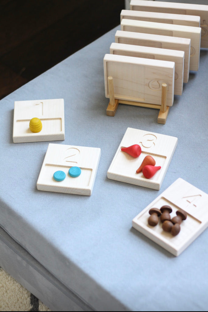 M+L Number Trays