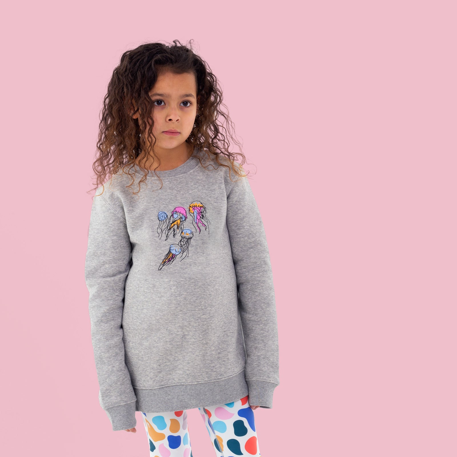 Jellyfish Jumper in Grey from Reins Clothing