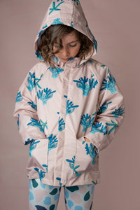Seconds Coral and Starfish Coat