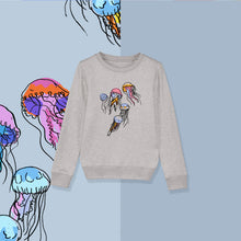 Load image into Gallery viewer, Jellyfish Jumper in Grey