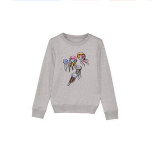 Jellyfish Jumper in Grey