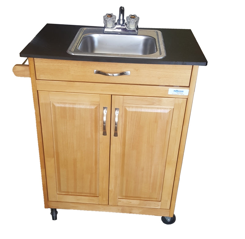 Monsam Single Basin Self Contained Portable Sink Model PSW-009S