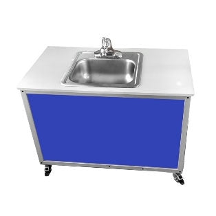 "Monsam Toddler Height Single Basin Portable Sink: 20"" PSE-2006I"