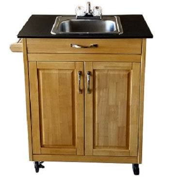 Monsam Single Deep Basin Self Contained Portable Sink PSW-009