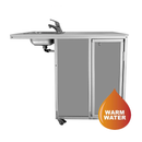 Monsam NSF Certified - ADA Stainless Steel Sink Portable Handwashing Station NS-2020