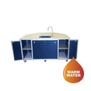 Monsam Portable Sink w/ Added Storage and Fold-Down Counter Space, PSE-2042