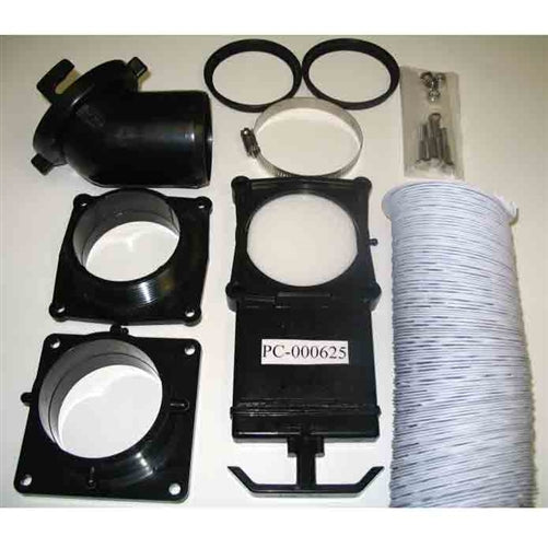 PolyJohn PC-000625 Dump Valve Assembly (Hose & Fittings Only) See DT02-1000 for Fully Installed Assembly