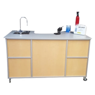 Monsam PSE-2049 Science Workstation Instruction Desk