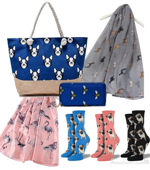 BAGS, SCARVES, SOCKS & ACCESSORIES
