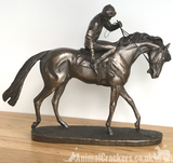 David Geenty 'On Parade' Cold Cast Bronze ornament figurine sculpture, great racehorse lover gift