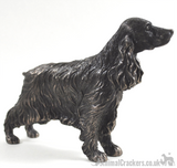 Cold Cast Bronze standing Cocker Spaniel ornament figurine