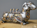 Steampunk Dachshund, novelty ornament, great Sausage Dog lover gift