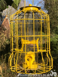 Luxury Range coloured Squirrel Proof metal wild bird SEED feeder