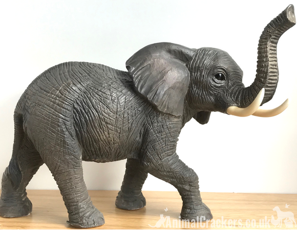 22cm Elephant ornament figurine, by Leonardo, gift boxed