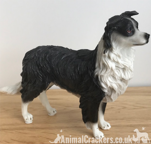Border Collie Sheepdog Lassie ornament sculpture figurine Leonardo, gift boxed