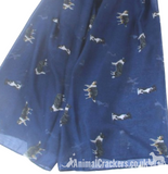 Border Collie coloured print ladies Scarf Sarong Sheepdog lover gift 3 OPTIONS